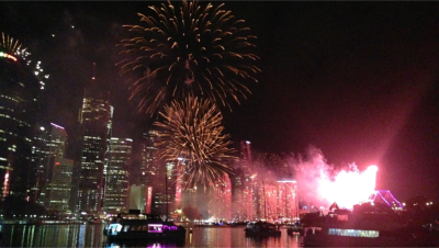 brisbane riverfire cruise